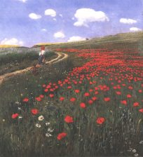 Pál Szinyei Merse: Poppy Field (1902)