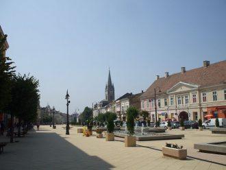 Main square of Torda