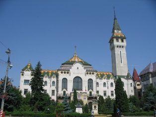 The Administrative Palace in Târgu Mureş