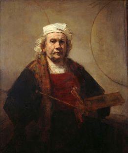 Self Portrait of Rembrandt (1661)