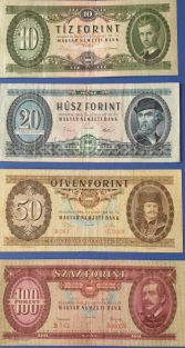 Old Hungarian banknotes