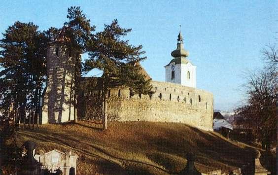 Reformed castle church of Sfântu Gheorghe