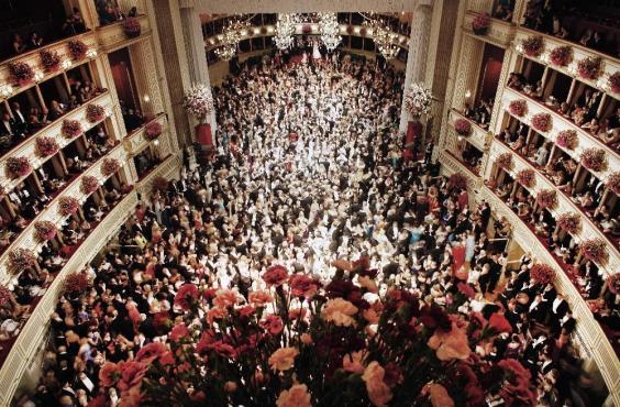 Opera Ball in Budapest