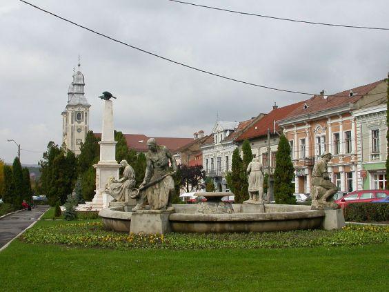 Odorheiu Secuiesc , Town Hall Square