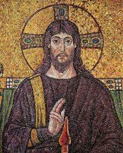 Christus, Ravenna, Mosaic