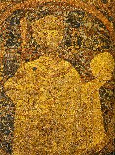 The only surviving contemporary depiction of King Stephen of Hungary