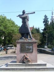 Statue in Odorheiu Secuiesc