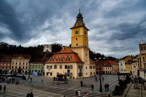 The main square of Brasov