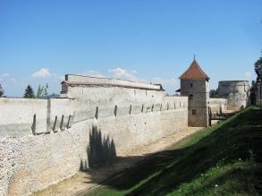 Brasov, part of the southeastern city wall