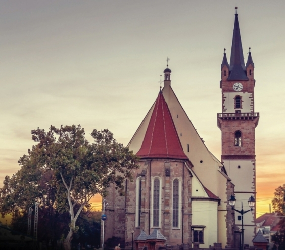 Evangelica Church in Bistrita