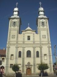 Franciscan church in Odorheiu Secuiesc