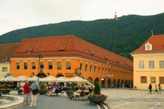 The Hirscher house was built in 1545 in Brasov
