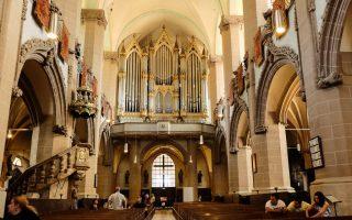 Inside Black Church in Brasov