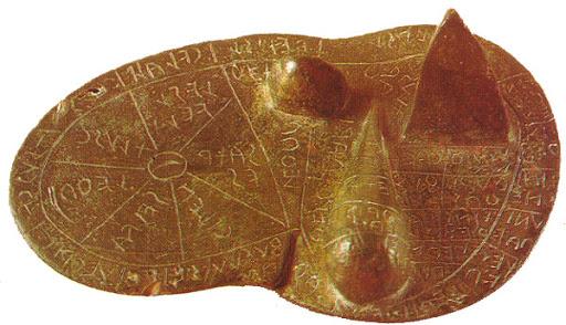 The bronze liver of Piacenza
