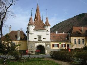 The Catherine's Gate in Brasov