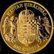 100 crown coin