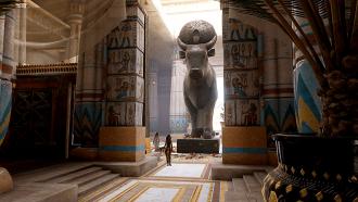 Apis at Ptah temple, Menphis