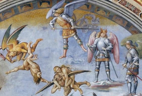 Three-Dimensionality in Signorelli's Orvieto Cathrdral