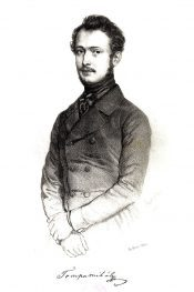 Poet Mihály Tompa