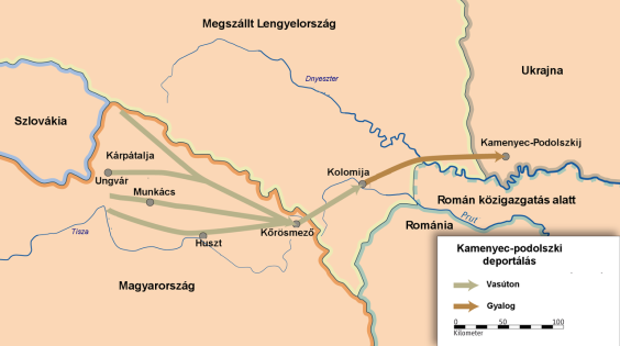 The massacre in Kamenets-Podolsky was the first act of the Hungarian Jewish Holocaust