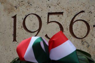 Popular uprising in 1956 in Hungary