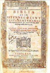Vizsolyi) Károli) Bible